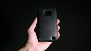 Samsung Galaxy S2 - Leather cover 01
