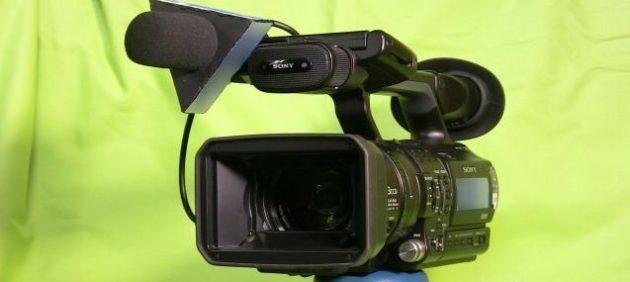 Sony Z1 HDV video kamera