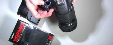 Kukalo (viewfinder) za DSLR s 3x povečavo