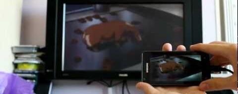 Video vsebine na TV zaslonu s Samsung Galaxy S2