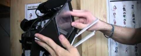 Naredi svoj mobilni TELEPROMTER za branje teksta