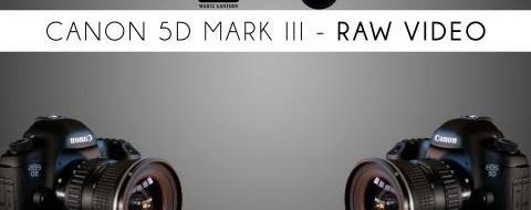 Česa sem bolj vesel? Čistega HDMI izhoda ali RAW snemanja na 5Dmk3?