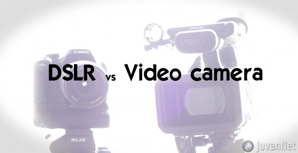 DSLR proti video kameri - JuvanNet