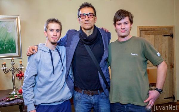 Snemanje z Nino Osenar in znanimi osebnostmi_JuvanNet (2)