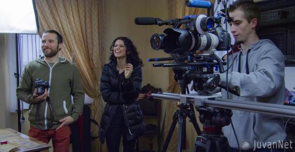 Snemanje z Nino Osenar in znanimi osebnostmi_JuvanNet (9)