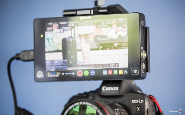 Canon 1Dx Mark II z Atomos Shogun_JuvanNet