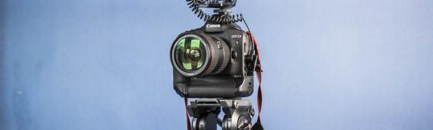 Canon 1Dx Mark II z Rode VideoMic_JuvanNet