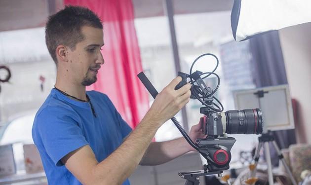 JuvanNet video produkcija med delom