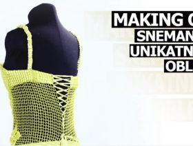 [Making of] Snemanje unikatnih oblek